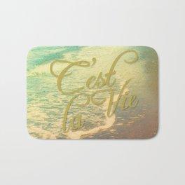 Beach Waves I - C'est La Vie Bath Mat