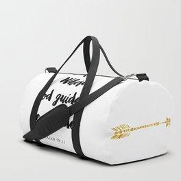 Isaiah 58:11 Christian Bible Verse Duffle Bag