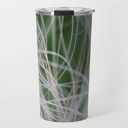 Abstract Image of Tropical Green Palm Leaves  Travel Mug