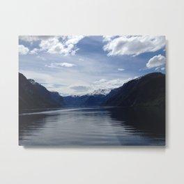 Sognefjord Norway Metal Print