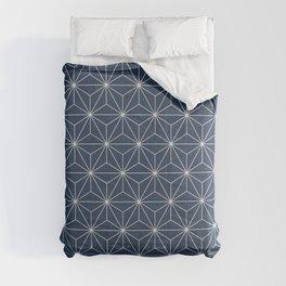 Geometric Stars pattern blue Comforters