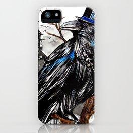 Dark Raven iPhone Case