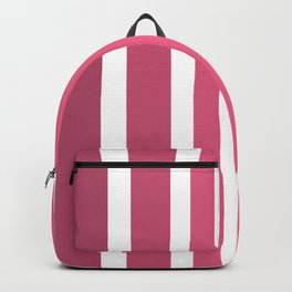Striped Ombre in Cotton Candy Pink Backpack