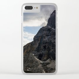 Alpine Peak Clear iPhone Case