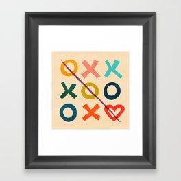 xoxo Love Framed Art Print