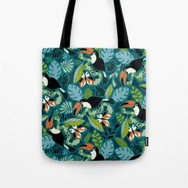 Toucan Tropics Tote Bag