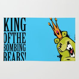 illsurge : King Of The Bombing Bears (2) Rug