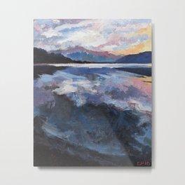 Lake Wanaka2 Metal Print