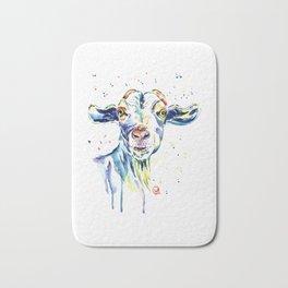 The Happy Goat Bath Mat