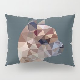 Geometric Alpaca Teddy Pillow Sham