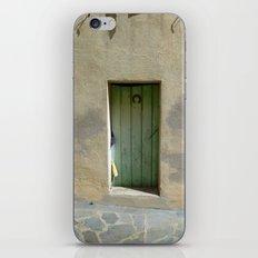 Good Luck Door iPhone & iPod Skin