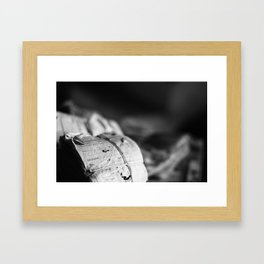 Worklogs Framed Art Print