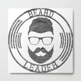 Beard leader Metal Print