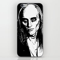 rocky horror picture show iPhone & iPod Skins featuring Riff Raff (Rocky Horror Picture Show) by Blake Lee Ferguson