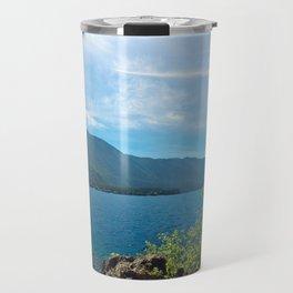 Lake Crescent Washington Travel Mug
