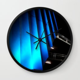 Exotic Blue Wall Clock