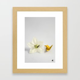 Pure Curiosity Framed Art Print
