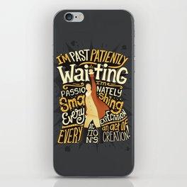 Smashing Every Expectation iPhone Skin