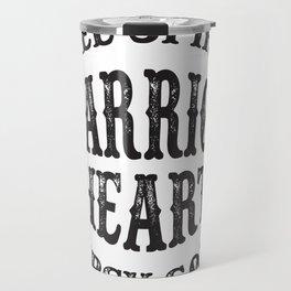 Warrior Heart Travel Mug