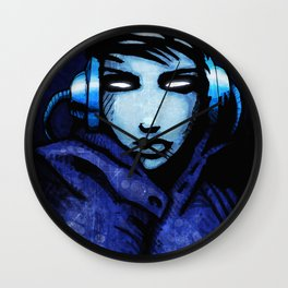 CyberGirl Wall Clock