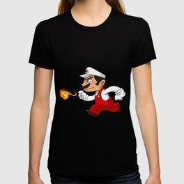 Fireball Plumber T-shirt