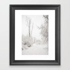 Joyeuses Fêtes! Framed Art Print