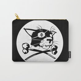 Pirate Cat Flag Carry-All Pouch