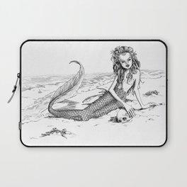 Undine: Creepy Mermaid Laptop Sleeve