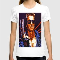 terminator T-shirts featuring The Terminator by Joe Misrasi
