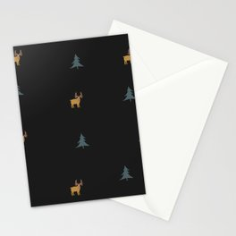 Moose Pattern Stationery Cards