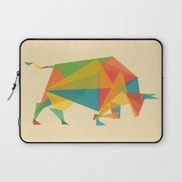 Fractal Geometric Bull Laptop Sleeve
