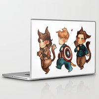 onward Laptop & iPad Skins featuring onward to adventure! by noCek
