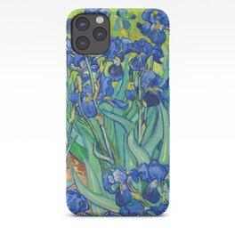 Vincent Van Gogh Irises Painting iPhone Case