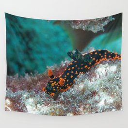 Delightful Nudibranch Wall Tapestry