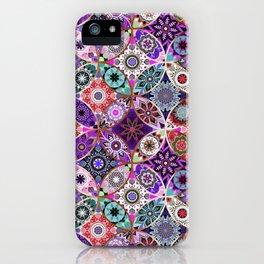 Moroccan bazaar | purple iPhone Case