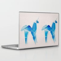 blade runner Laptop & iPad Skins featuring Blade Runner| Unicorn by Eazy Verdeacqua