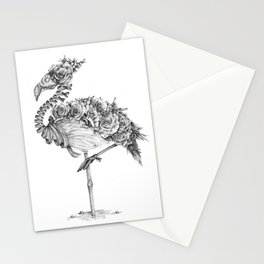 Panacea (Black and White Version) Stationery Cards