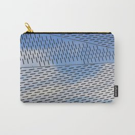 Metal shapes with line notches Carry-All Pouch