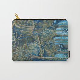 Forest Salmon Run  Carry-All Pouch