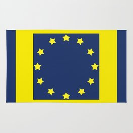 The European   Union 2 Rug