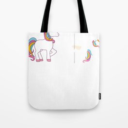 Funny Unicorn Before Coffee After Coffee T-shirts Gift Tote Bag