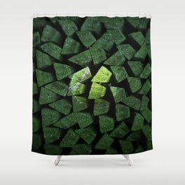 The Power Of The Tennisball Shower Curtain