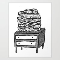 Stomach Knot 5 Art Print