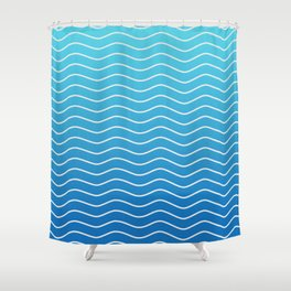 Greek Islands Shower Curtain