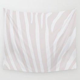 Tan & Off White Zebra Print Wall Tapestry