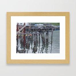 Solid Foundation Framed Art Print