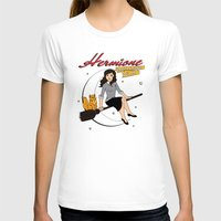 hermione T-shirts featuring Hermione the Teenage Witch by HuckBlade