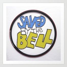 064: Saved by the Bell  - 100 Hoopties Art Print