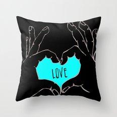 Love (version 2) Throw Pillow