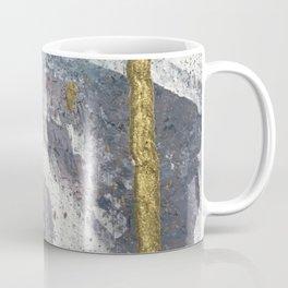 To the Mountains: a minimal abstract mixed-media piece by Alyssa Hamilton Art Coffee Mug